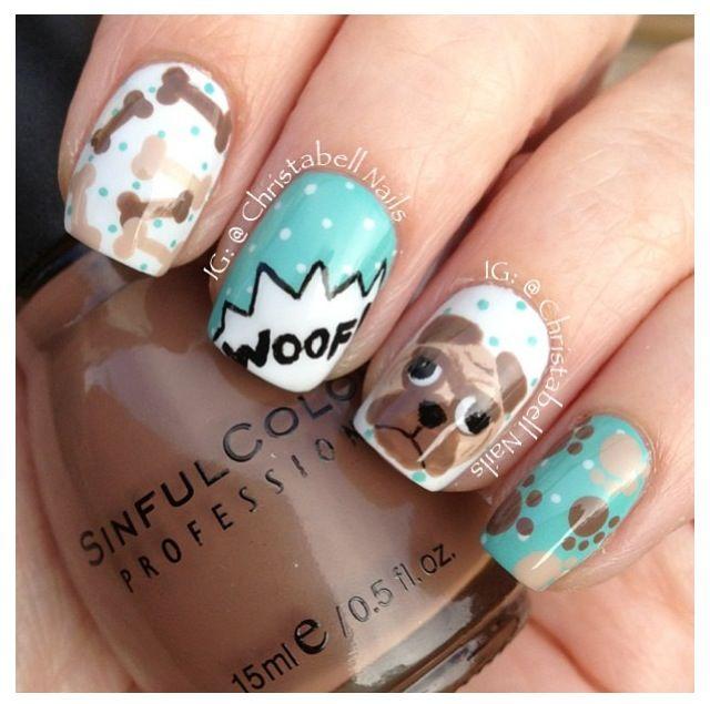 Doggy nails.