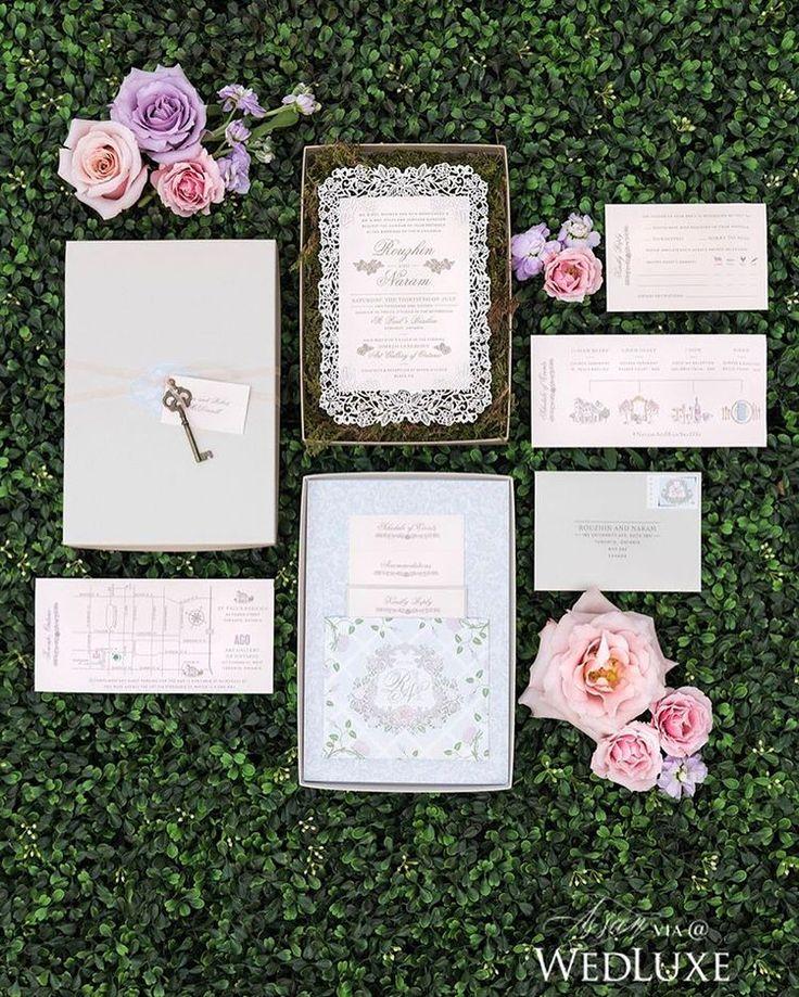 303 best Stationery Suites images on Pinterest - fresh invitation box