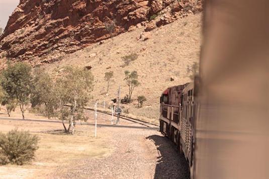 The Ghan - Austalian railroad