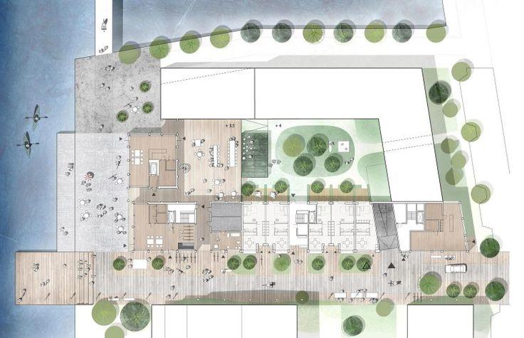 Kjellander Sjöberg - Oceanhamnen -  Site plan