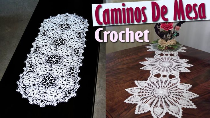 Caminos Para Mesa - Tejidos a Crochet ( Diseños e IDEAS )