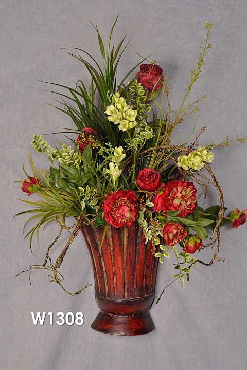 11 best images about unique flower arrangements on for How to make artificial flower arrangements