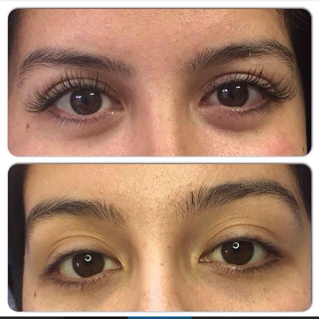 9 best hair salon merida eyelash extensions for Extensiones antes y despues