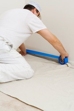 the failsafe guide to the perfect paint job interior paintingdiy drop clothcanvas