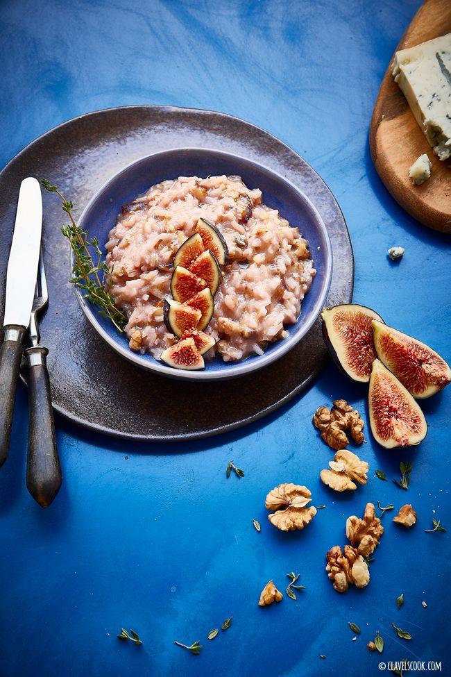 Clavel's Cook: a Saudade {risotto de figos e Gorgonzola}