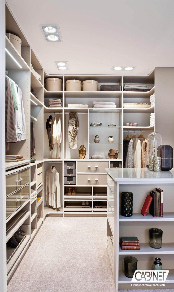 20 Luxus Begehbare Schrank In 2020 Begehbarer Kleiderschrank Einbauschrank Kleiderschrank