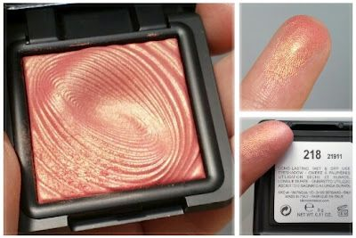 MAC Expensive Pink = Kiko Water Eyeshadow 218