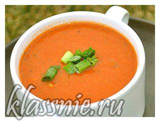 Нутовый суп с томатами