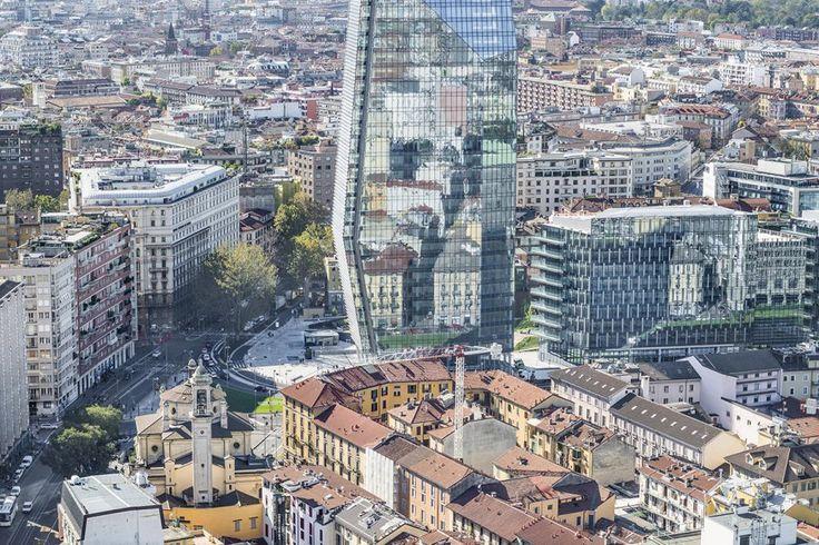 Francesco Radino Vedute di Milano