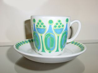 """Figgjo Flint """"Granada""""- this is a lovely design- i have a breakfast set in this, am only missing a teapot now!"""