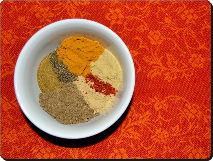 Caril - Mistura de Especiarias / Home Mixed Curry Powder