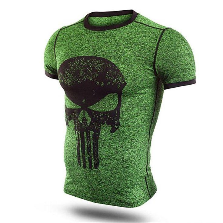 Punisher Fitness Shirt //Price: $20.00 & FREE Shipping //     #superheroez #superheroes #marvel #dccomics