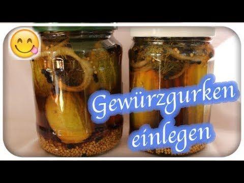 Gartengemusekiosk Youtube Eingelegte Gurken Gurken Einmachen Gewurzgurken