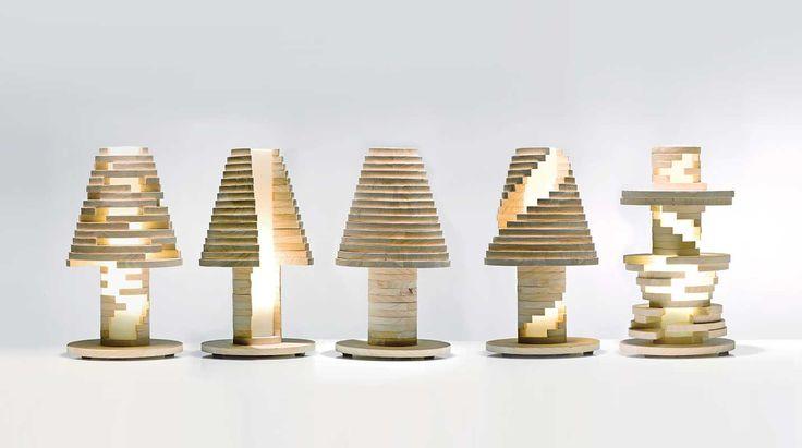 Abat-jour in legno componibile http://www.design-miss.com/abat-jour-in-legno-componibile/ Ideale per chi ama giocare con l'#arredo e trovare soluzioni sempre nuove, l'#abat-jour in legno…
