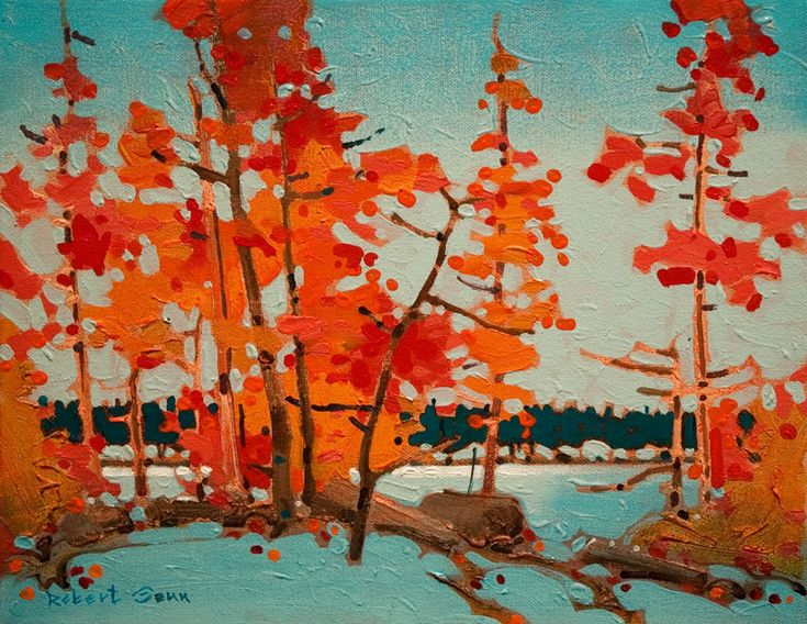 Twelve Mile Portage, Shammis Island, Lake of the Woods, by Robert Genn