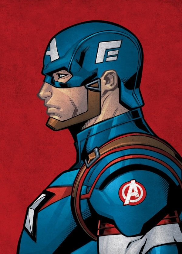 "Official The Avengers Character Profiles Captain America #Displate artwork by artist ""Marvel"". Part of an 11-piece set featuring artwork based on characters from the popular The Avengers comic books. £35 / $46 per poster (Regular size), £63 / $84 per poster (Large size) #Marvel #MarvelComics #Comic #Comics #ComicBook #ComicBooks #TheAvengers #Avengers #AntMan #BlackPanther #BlackWidow #CaptainAmerica #Falcon #Hawkeye #Hulk #TheIncredibleHulk #IronMan #Thor #Vision #WarMachine"