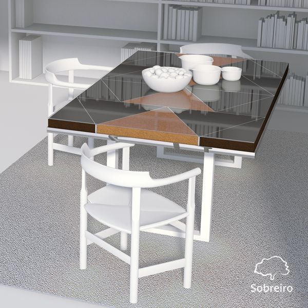 If your home needs a special touch, our Diamond Line's Dining Table can give life and identity to any room.