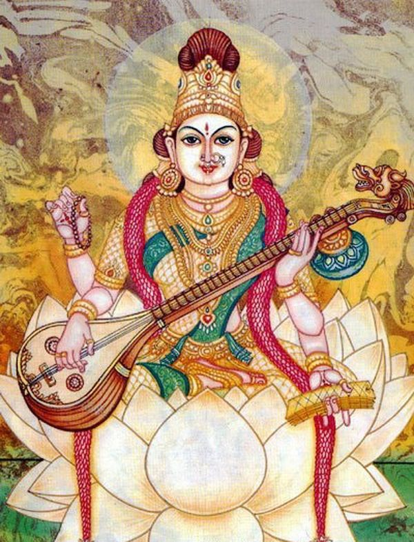 #28-Goddess Saraswathi – Embodiment of Knowledge