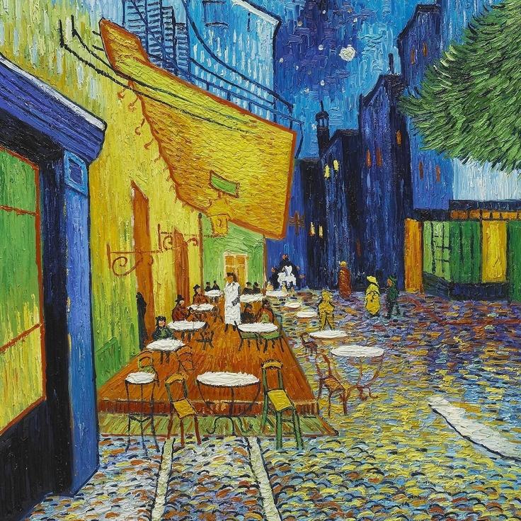 Van Gogh  Summer night in Arles