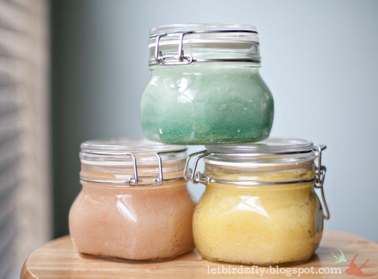 do-it-yourself sugar scrub