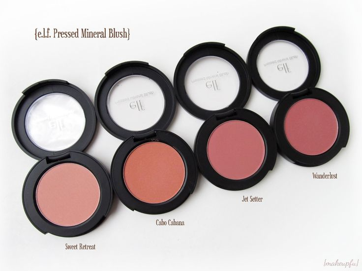 e.l.f. Mineral Pressed Mineral Blush -Sweet retreat