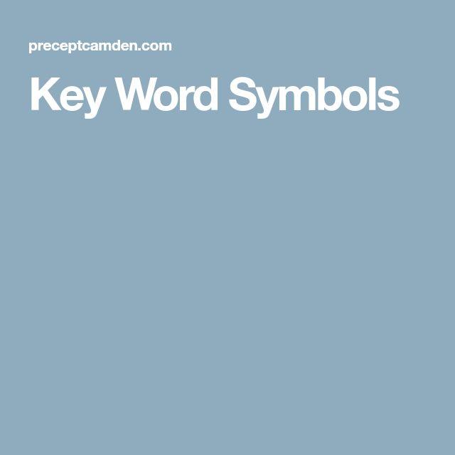 Key Word Symbols