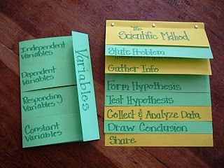 Scientific Method Foldable - I'm not even going to teach science and I love it!