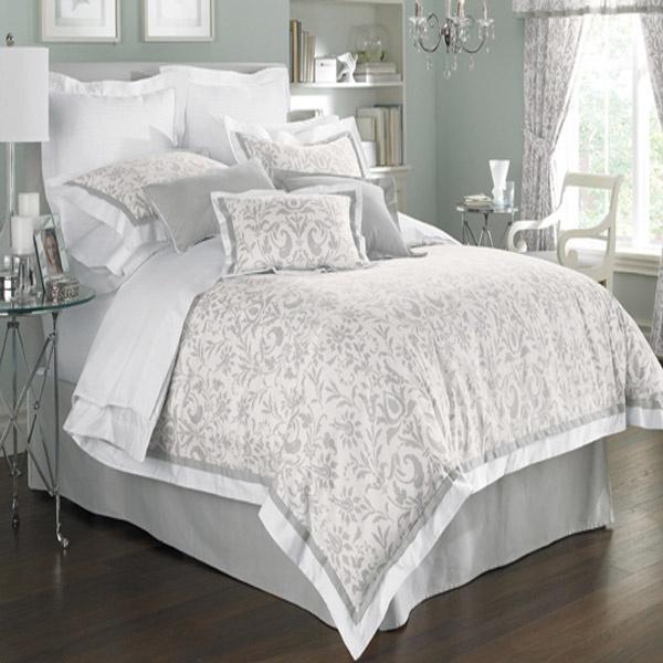 Gray Madeira Comforter Set : White black and grey bedding imgkid the image