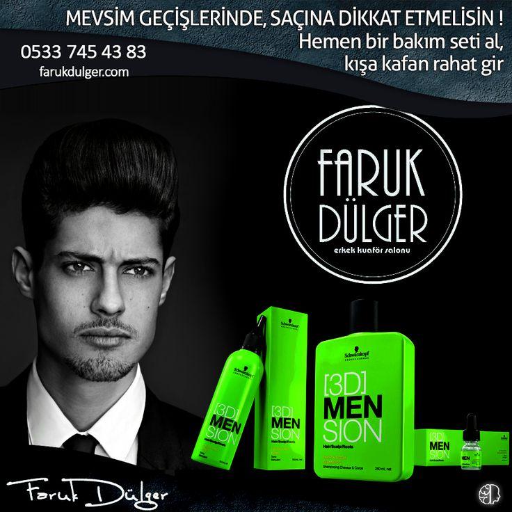 #Schwarzkopf #3DMension serisi #Activating ürünleri ile kışa girmeden saçınıza #bakım yapın, rahat edin. #Saç dökülmeniz azalsın, saçlarınız güçlensin. #bursa #fsm #erkek