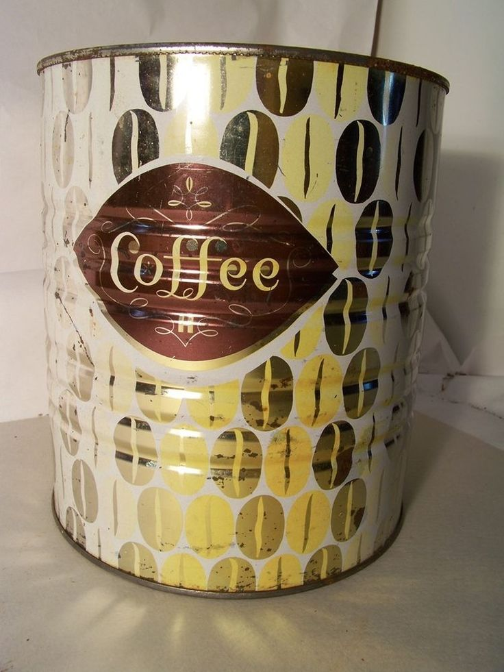 Vintage Hills Brother's Coffee Tin Vintage 1962 #HillsBrothers