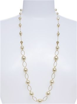 Our Lauren Faux Pearl Necklace Is A Beautiful Choice For The Mother Of Bride