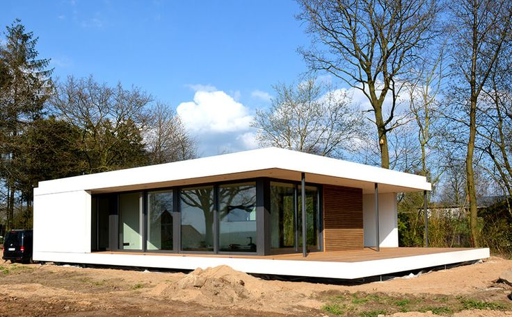 Best 25 modern bungalow house plans ideas on pinterest for Mini bungalow fertighaus