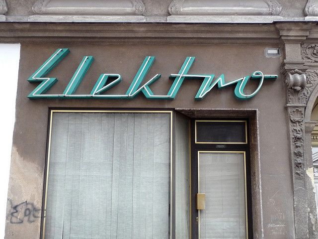 Viennese signage via phospho's Flickr
