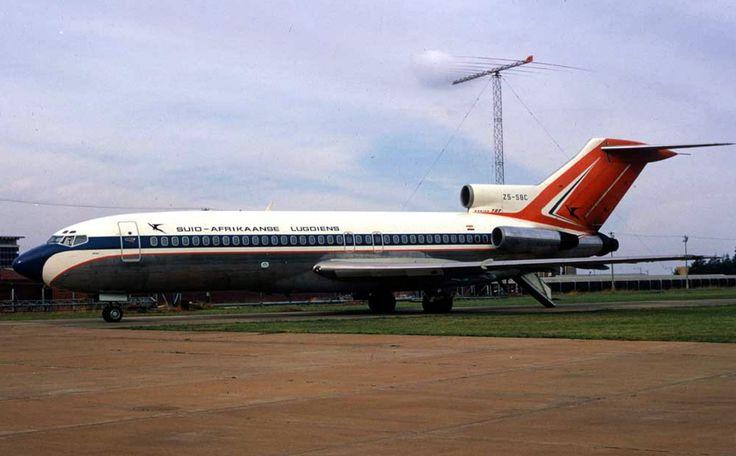 SAL Boeing 727 ZS-SBC by Jan Smuts lughawe - Scanavphoto