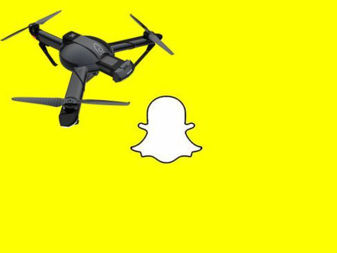 Snap's sequel to Spectacles: Drones? - CNET