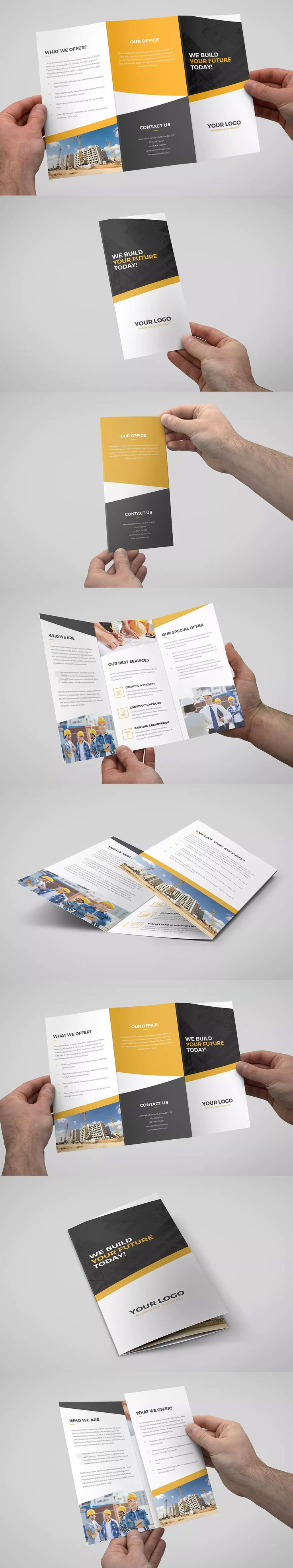 25 best ideas about tri fold brochure template on for Letter size brochure template