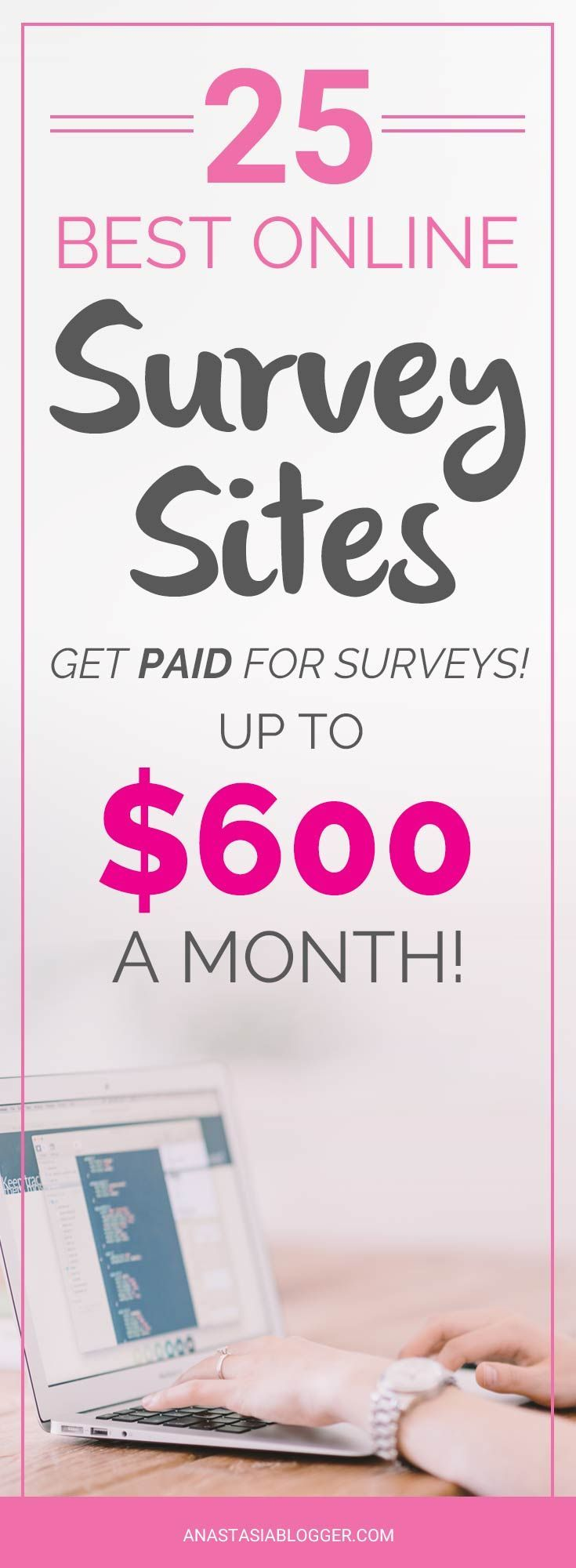 25 best paid surveys sites. Get paid for surveys! Online surveys for money, Online surveys that pay, Paid online surveys. Get a list of Best online surveys in the US, Canada and the UK!