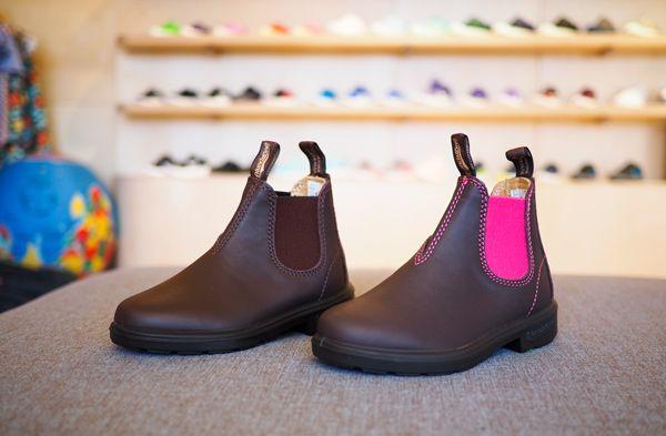 Blundstones Pink 1410 and Blundstones Brown 530, Kids Footwear, www.oishi-m.com
