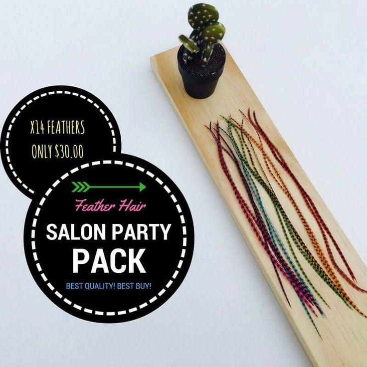 A personal favourite from my Etsy shop https://www.etsy.com/au/listing/456733574/salon-party-pack-feather-hair-extensions
