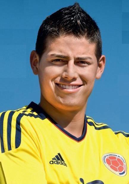James Rodriguez Football