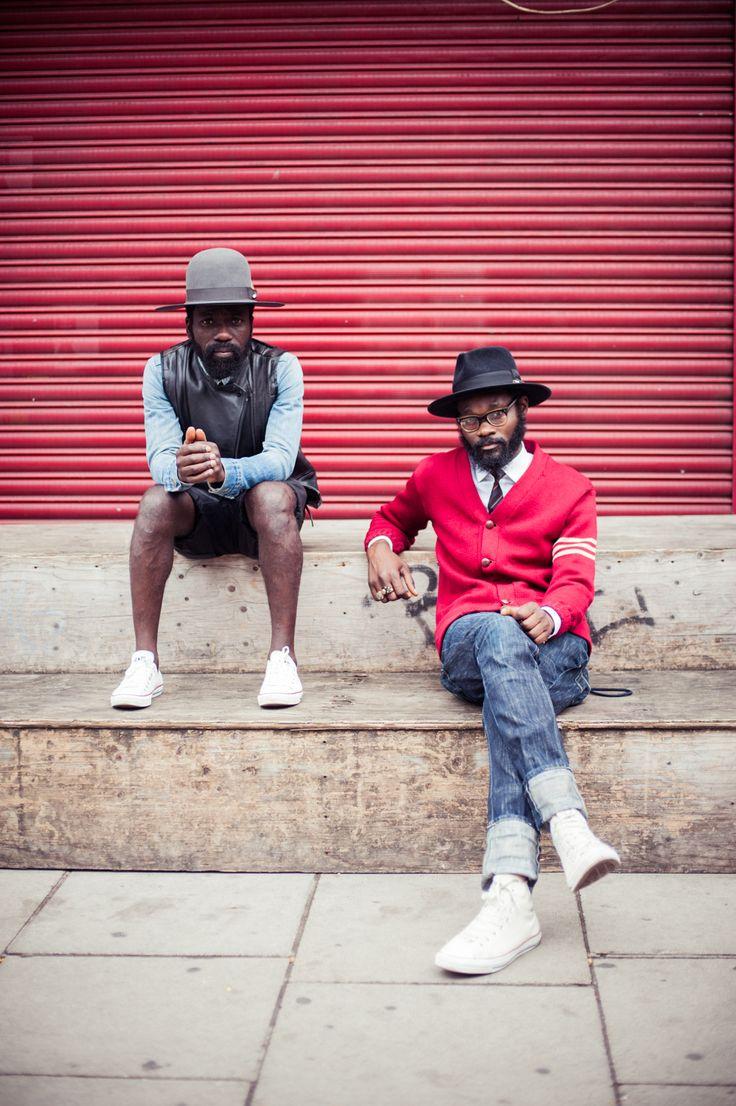 Sam Lambert + Shaka Maidoh (Art Comes First) Denim Dudes
