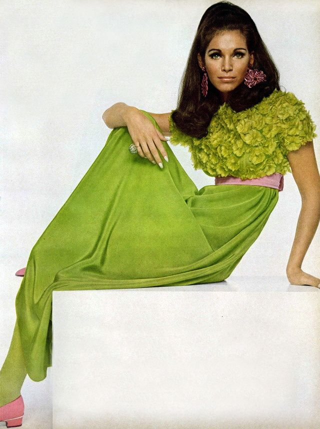 Ann Turkel by David Baily American Vogue Editorial October 1967