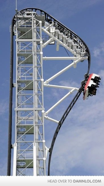 That's one intense roller coaster.  http://www.mymodernmet.com/profiles/blogs/worlds-steepest-roller-coaster