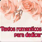 Textos romanticos para dedicar