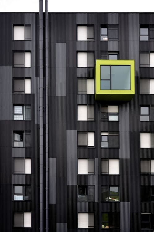 Bobo Feed...black and yellow! #architecture #design