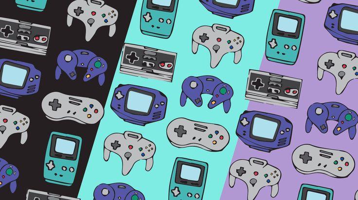 Diseño dedicado para los años 90 es este lindo papel deco de nintendo para aquellas personas amantes de los video juegos.