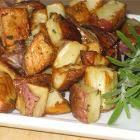 Foto recept: Rode aardappels met rozemarijn uit de oven