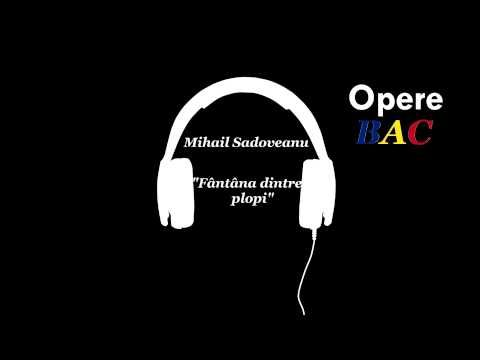 Mihail Sadoveanu - Fantana dintre plopi   Povestire