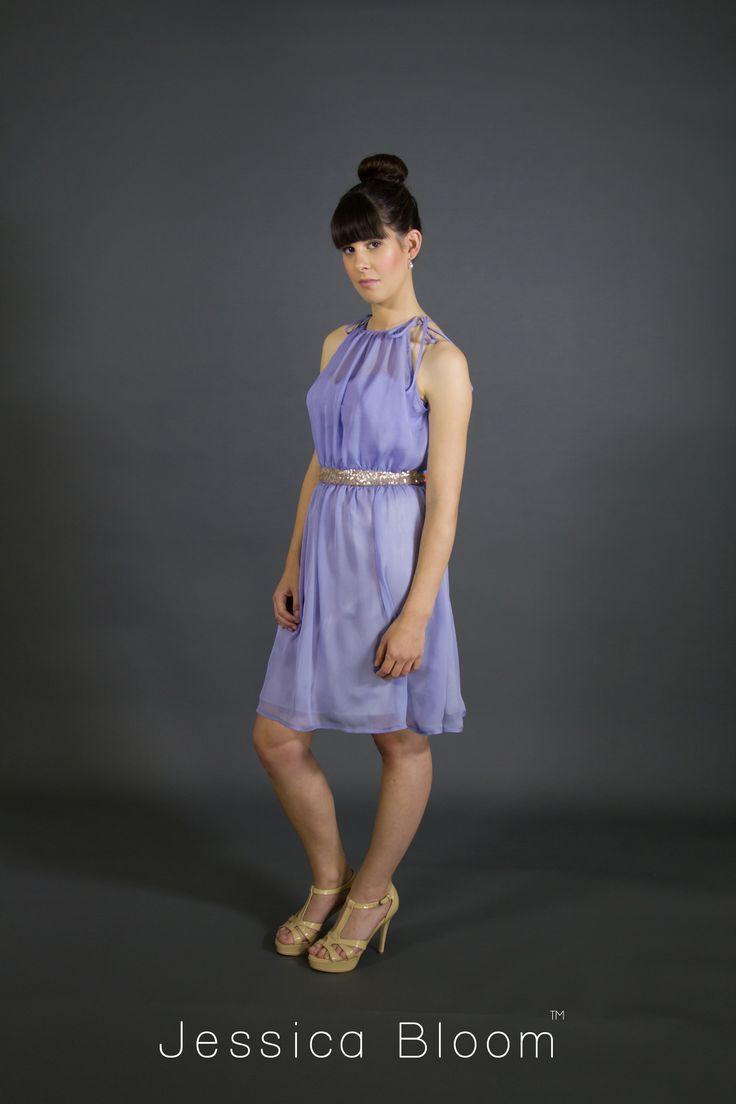 Jessica Bloom cocktail dress Audrey in lavender