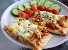 This Muslim Girl Bakes: Chicken and Sweetcorn Pizza